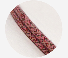 "Textile cable ""Berry"""
