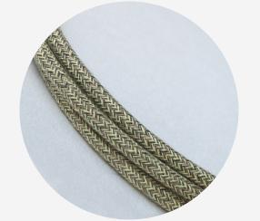 """Textile cable """"Sandstorm"""""""