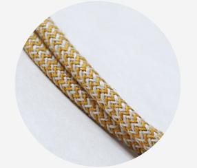 "Textile cable ""Arctium"""