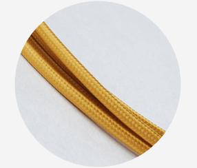 """Textile cable """"Honey"""""""