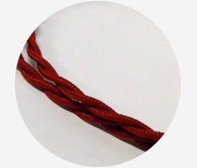 "Twisted cable ""Cherry"""