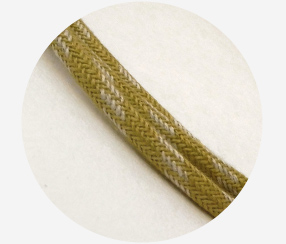 "Textile cable ""Greenfly"""