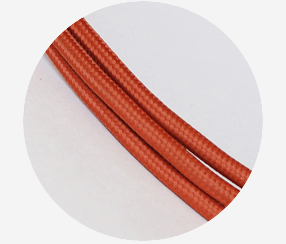 "Textile cable ""Brickwall"""