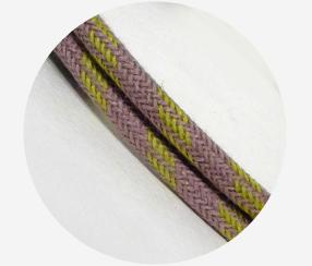 """Textile cable """"Lilac"""""""