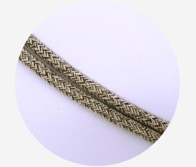 """Textile cable """"Oli shale"""""""