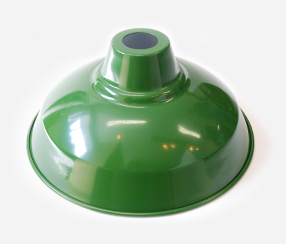 Lambikuppel roheline, metall