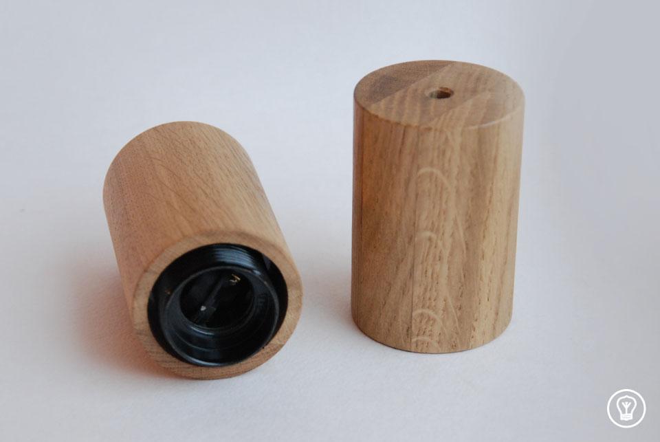 """Wooden lamp """"Oak"""""""