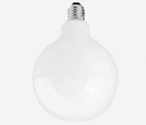 Led Globe lamppu, valkoinen 120 mm