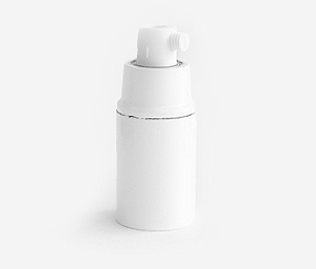 Bakelite lampholder  white