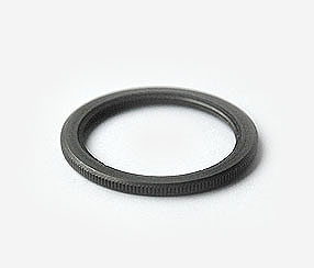 Shade ring for antique gray lampholders