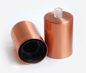 Copper lamp, lacquer