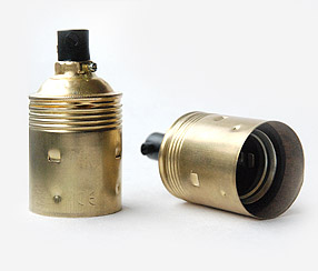 Metal lampholder E27