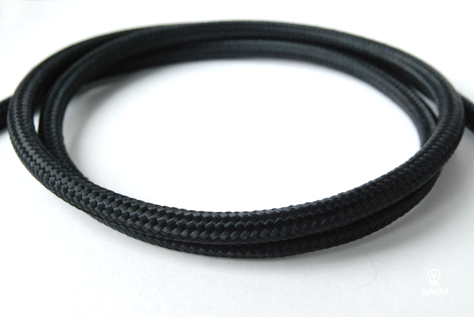 Black cable 3x2,5mm2