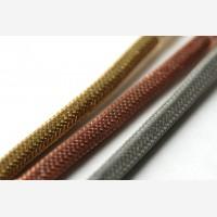 Metallkiust kattega kangasjuhe - Kuld