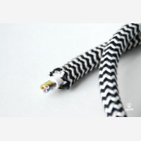 Kiudkaabel tekstiilkattega 3x2,5mm2 sik-sak