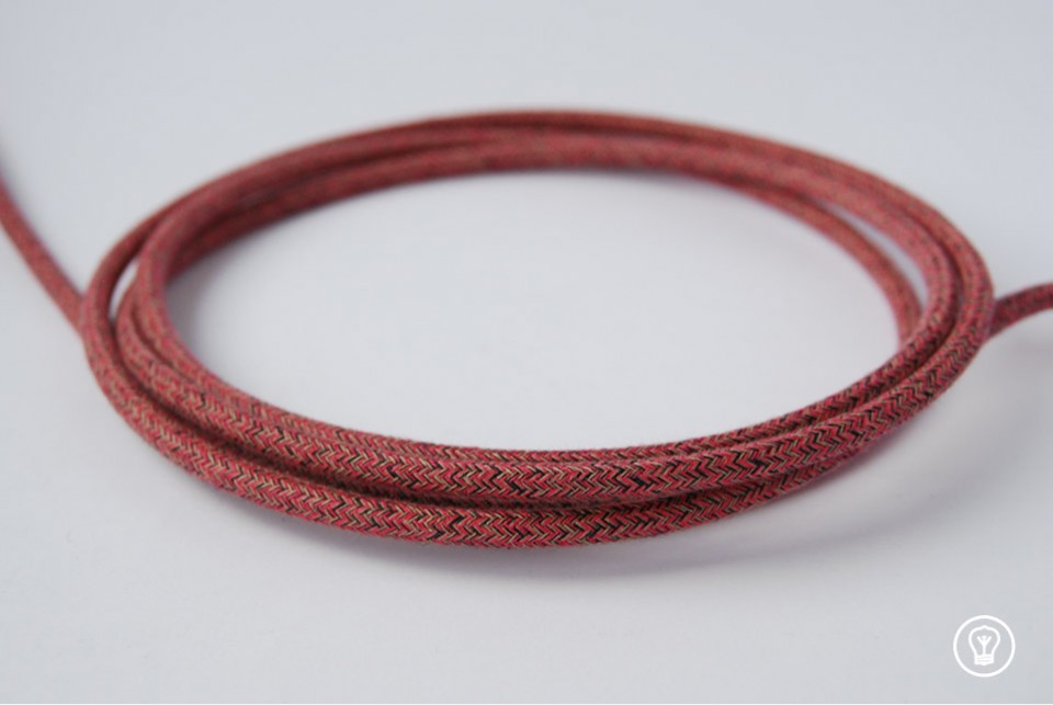 Textile Cable - Berry