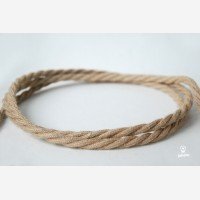 """Twisted cable """"Jute"""" 3x1.5mm2"""