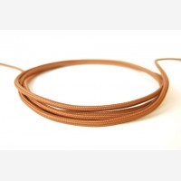 Textile Cable - Brown