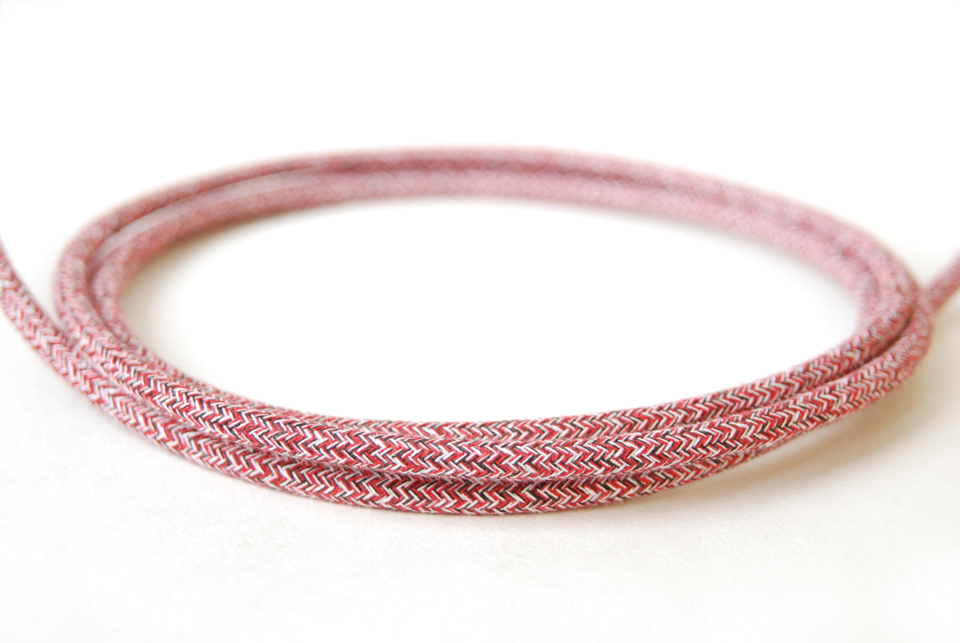 Textile cable - Rose Hip