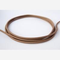 "Textile cable""Cappuccino"""