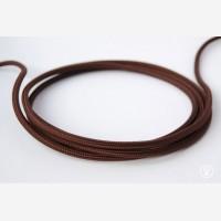 """Textile cable """"Chestnut"""""""