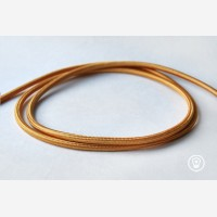 "Textile cable ""Gold"""