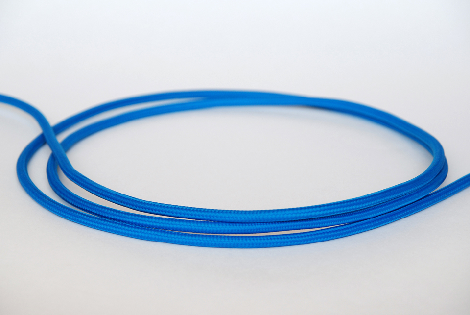 Textile cable-Blue