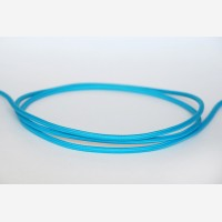 "Textile cable ""Turquoise"""