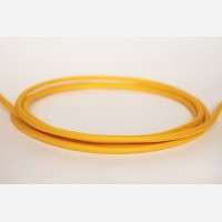 "Textile cable ""Deep yellow"" 3x1,5mm2"