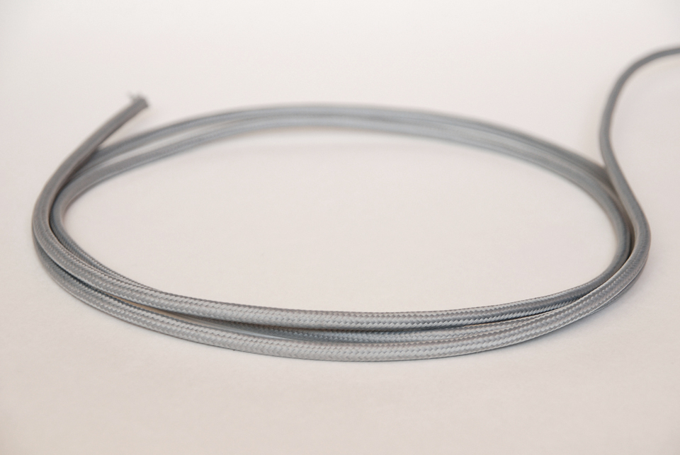 Textile cable - Light Grey