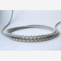 Rye linen & cotton CAT6 cable