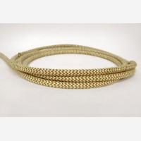 """Textile cable """"Linen zigzag"""""""