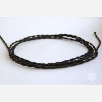 "Twisted cord ""Black"""