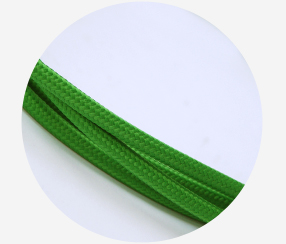 "Textile cable ""Green"" 3x1,5mm2"