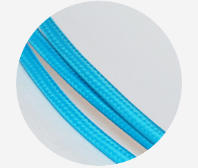 Textile Cable - Turquoise