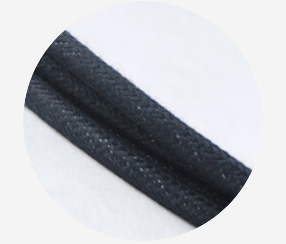 Textile Cable - Black Cotton