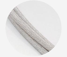 Lininis tekstilinis kabelis 3x1,5mm2