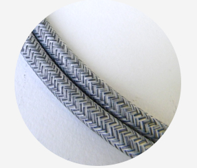 "Textile cable ""Lagle"" 3x1,5mm2"