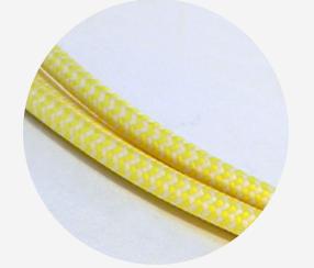 "Textile cable ""Iris"""