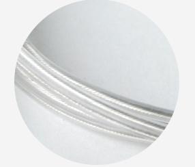 Transparent cable 2x0.75mm2