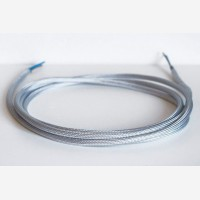 "Textile cable ""Silver"""