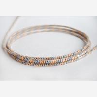 "Textile cable ""Rainbow"""