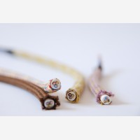"""Textile cable """"Pink"""" 3x1,5mm2"""