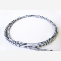 """Textile cable """"Steel"""" 3x1,5mm2"""