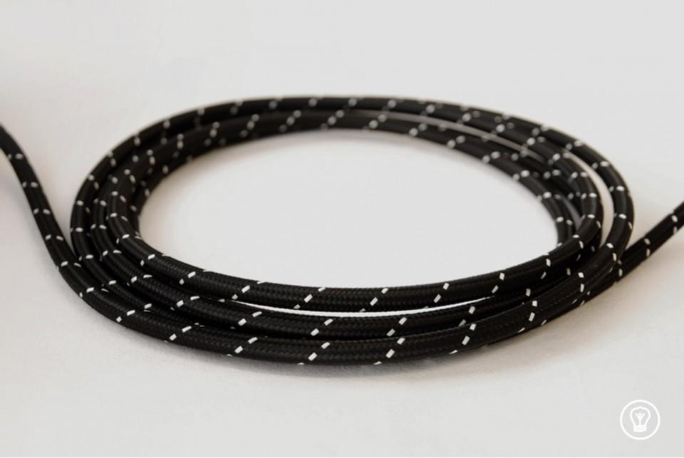 """Textile cable """"Tuxedo"""""""