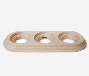 Wooden frame, triple, Sat