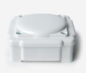 White duroplast junction box