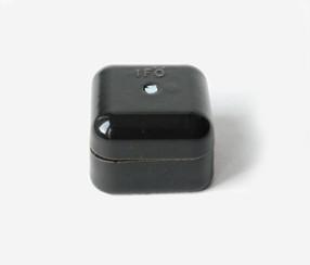 Junction box square, Mini, black