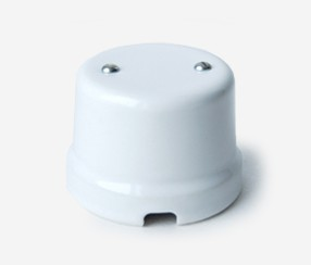 White porcelain shunt box