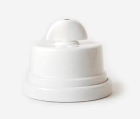 Two way switch Napoleon, white porcelain